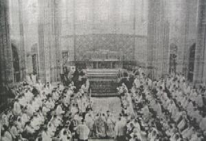 Consécration de la Chapelle du Séminaire