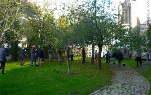 Cueillette des pommes au Séminaire Saint-Jean