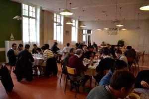 Repas de fête au Séminaire